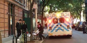 Abortion Patient Transported from Margaret Sanger Planned Parenthood with No Gurney Access